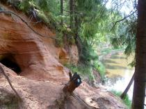 Salatsi jõe (Salaca) koopad