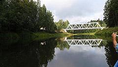 Koiva  jõe (Gauja) keskmisel osal